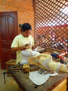Siem Reap : ateliers d'artisanat | Traditional workshops